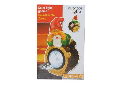 Tuinkabouter solar 28cm