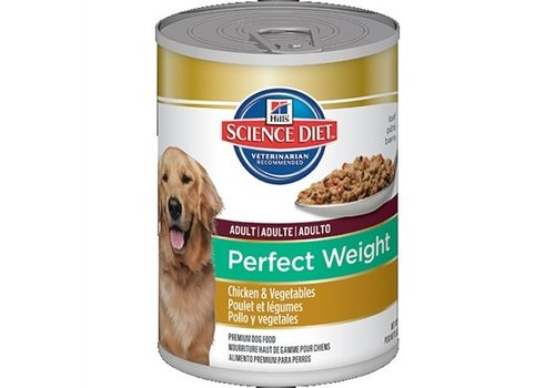 12x hill's perfect weight canine adult