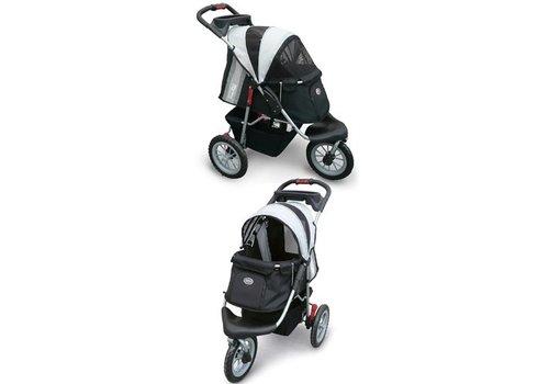 Innopet buggy comfort efa zwart/ zilver grijs