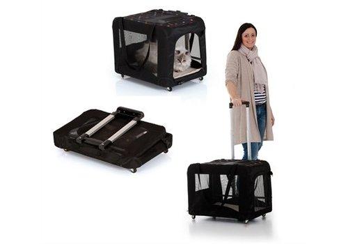 Tog fit pet on the go trolley tot 15 kg zwart