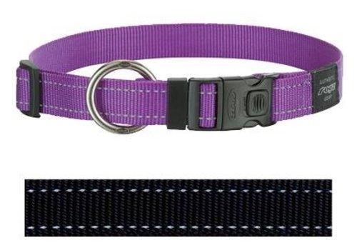 Rogz for dogs lumberjack halsband zwart