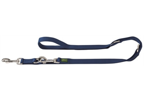 Hunter trainingslijn nylon marine blauw