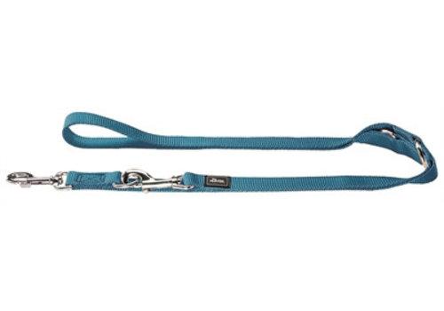 Hunter trainingslijn nylon turquoise