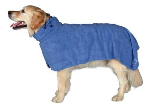 Trixie badjas microvezel blauw