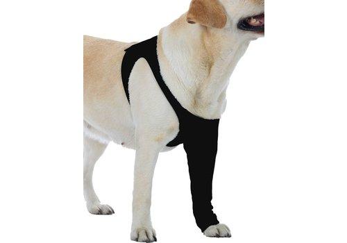 Suitical recovery sleeve hond zwart