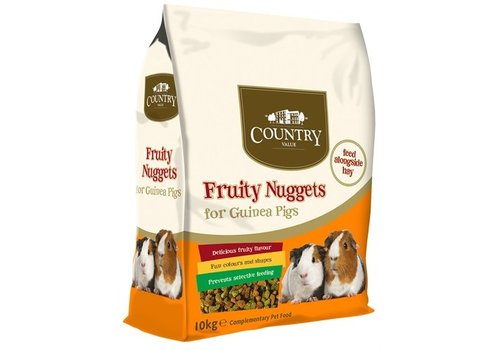 Burgess country value fruity nuggets guinea pig