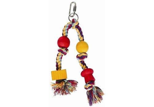 Happy pet speelgoed papegaai twin hanger assorti