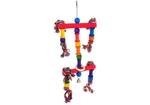 Happy pet speelgoed papegaai juggler assorti