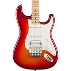 Fender STANDARD STRATOCASTER FR PLUS TOP MN AGED CHERRY BURST