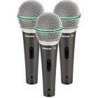 Samson Q6 DYNAMIC MIC 3-PACK