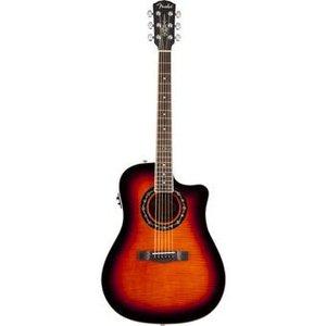 Fender FENDER NEW T-BUCKET 300CE FLAME MAPLE 3-COLOR SUNBURST ACOUSTISCHE GITAAR
