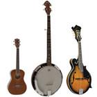 Ukelele / Banjo / Mandoline / Lap steel