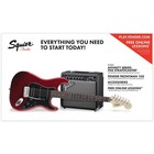 Squier PK STRAT HSS 15G CAR