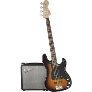 Squier Affinity series Precision Jazz Bass Pakket BSB