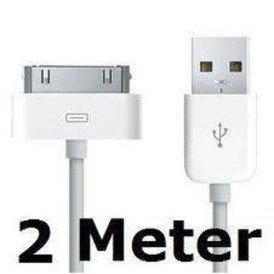iPad 2 3 oplaad kabel USB 2 meter