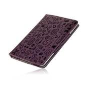 iPad Mini stand case Trendy leer paars