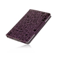 iPad Mini stand case Trendy leer paars