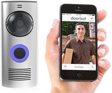 Doorbot | De draadloze deurbel met beeld en geluid voor tablets en Smartphones
