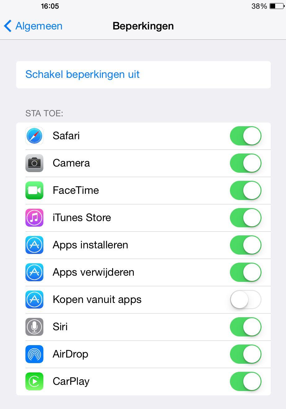 12 'Verscholen' functie's voor je iPad/Tablet of iPhone