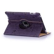 iPad mini 360 hoes Trendy leer paars