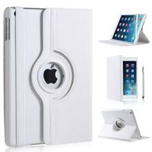 iPad Air 2 hoes 360 graden wit leer