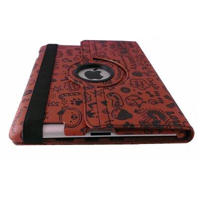 iPad mini 360 graden hoes Trendy leer bruin