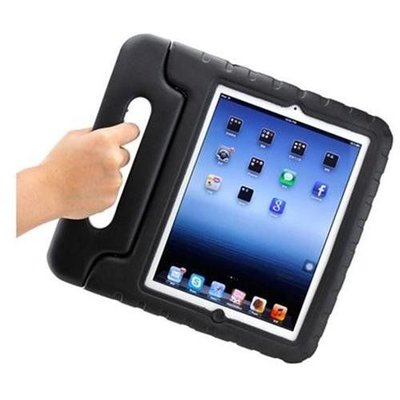iPadspullekes.nl iPad Air 2 Kids Cover zwart