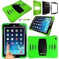 iPadspullekes.nl iPad Air 2 Protector hoes groen