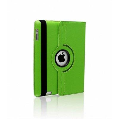 iPad hoes 360 graden groen leer