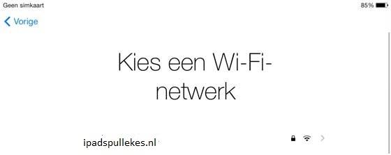iPad handleiding netwerk