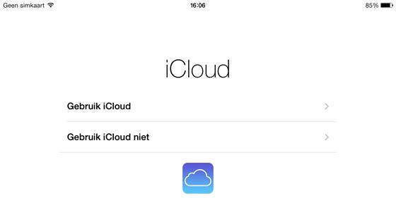 handleiding ipad icloud