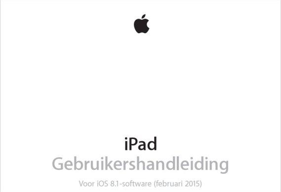 Gebruikershandleiding iPad installeren
