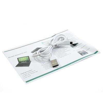 iPadspullekes.nl iPad Air toetsenbord bluetooth aluminium wit