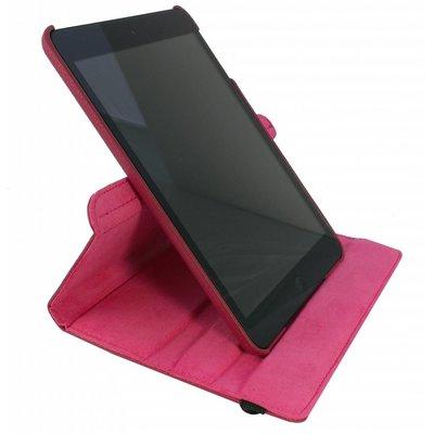 iPad Mini 4 hoes 360 graden leer roze