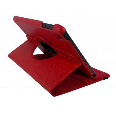 iPadspullekes.nl iPad Mini 4 hoes 360 graden leer rood
