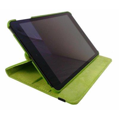 iPad Mini 4 hoes 360 graden leer groen