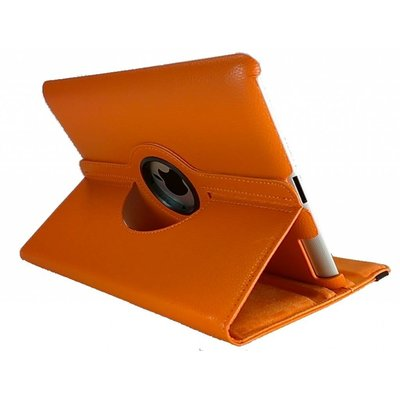 iPadspullekes.nl iPad Mini 4 hoes 360 graden leer oranje