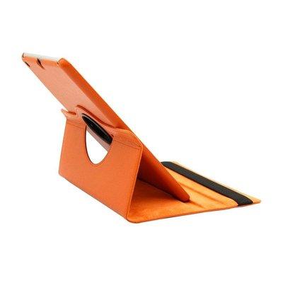 iPad Pro 9,7 hoes 360 graden oranje leer