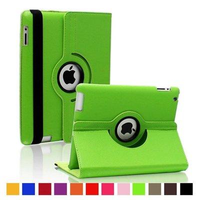 iPad Pro 9,7 hoes 360 graden groen leer