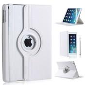 iPad Pro 9,7 hoes 360 graden wit leer