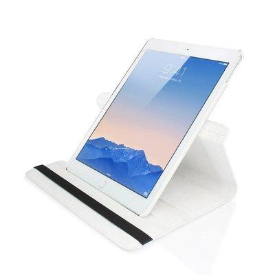 iPadspullekes.nl iPad Pro 9,7 hoes 360 graden wit leer