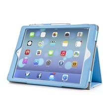 i-Blason Leather Slim Book Case for iPad Air blauw
