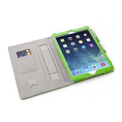 i-Blason Leather Slim Book Case for iPad Air groen