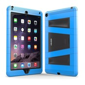 i-Blason ArmorBox 2 Layer Full-Body Protection KickStand Case for iPad Air 2 blauw en zwart