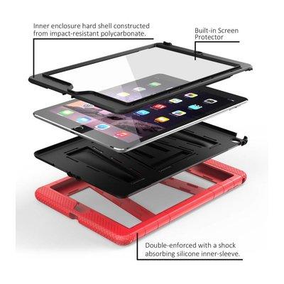 i-Blason iPad Air 2 hoes extra beschermd rood  zwart ArmorBox 2