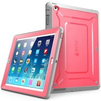 Supcase Unicorn Beetle Protective Case for iPad Air 2 roze en grijs