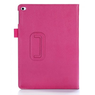 i-Blason iPad Air 2 Leather Slim Book Case magenta