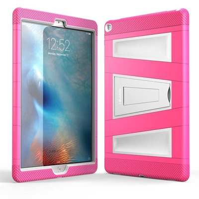 i-Blason ArmorBox 2 Layer Full-Body Protection KickStand Case voor iPad Pro 12,9 roze