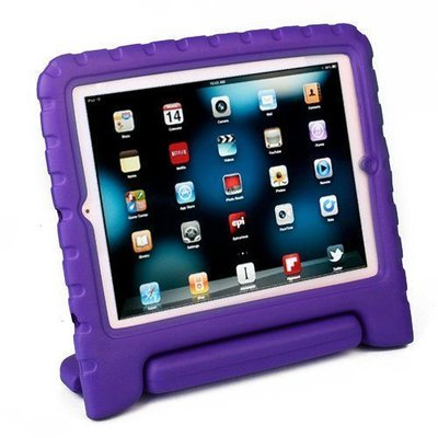 iPad Pro 9.7 Kids Cover paars