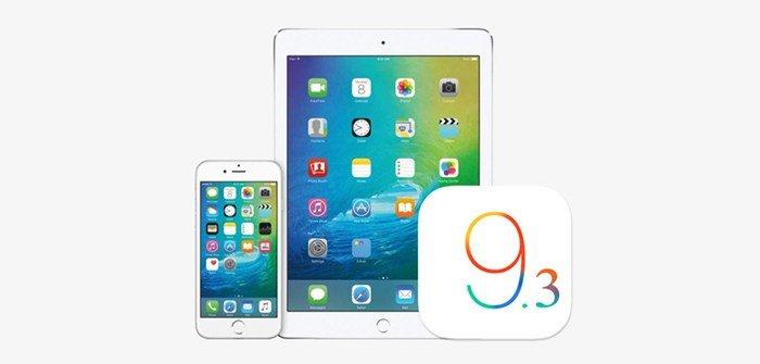 Apple brengt iOS 9.3.2 update uit voor iPad en iPhone